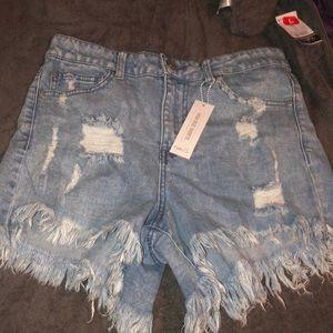 Pants - High rise shorts